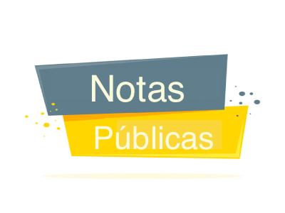 Notas públicas